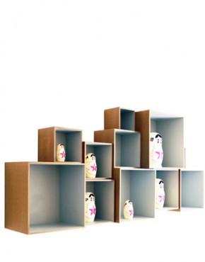 Babushka boxes - set scatole componibili ok design