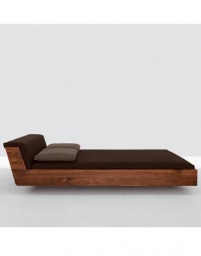 Fusion - letto in legno testiera imbottita