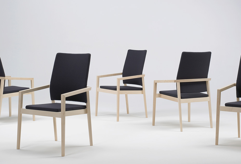 Session magnus olesen sedie ufficio design nordico