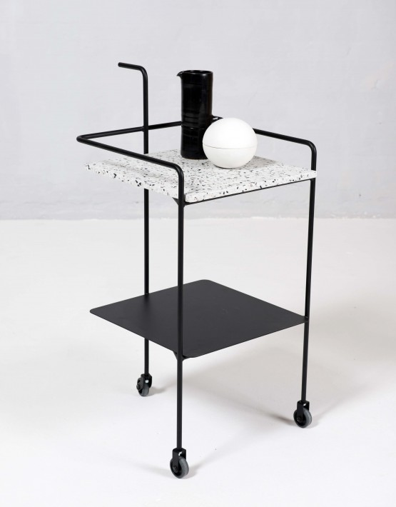 confetti trolley carrello portabevande ok design. Black Bedroom Furniture Sets. Home Design Ideas