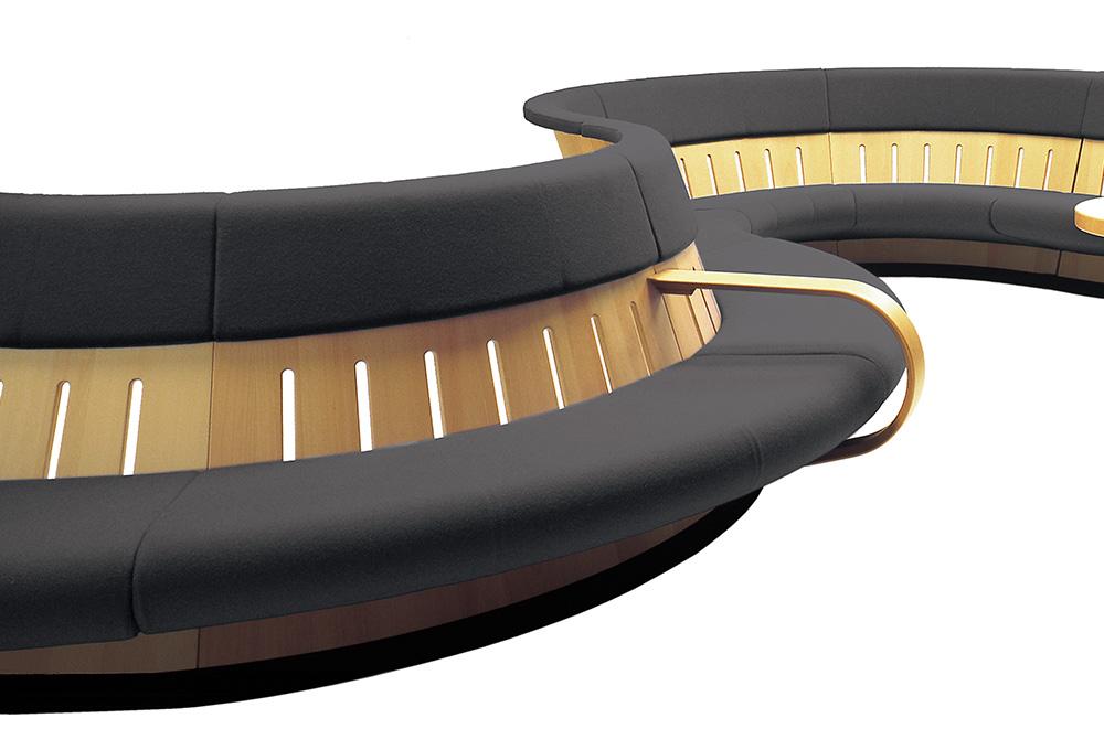 Swing magnus olesen divano modulare per ufficio for Divano ufficio