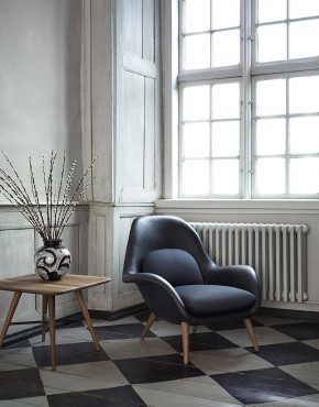 Swoon easy chair by Fredericia Design Space Copenhagen