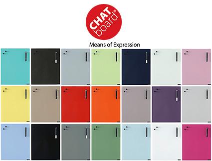 Chat Board - lavagna magnetica di vetro