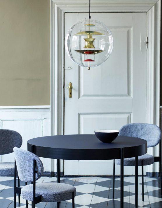 Serie 430 Table Tavolo Rotondo Verpan Design Verner Panton